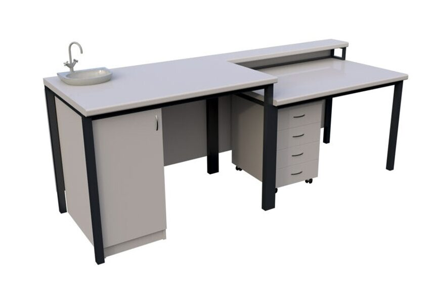 Laboratorijas galds NZLABD2