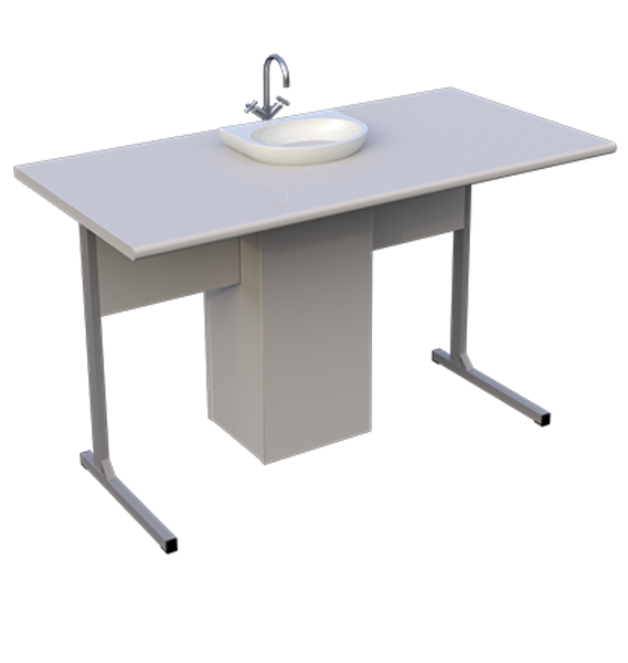 Ķīmijas kabineta galds