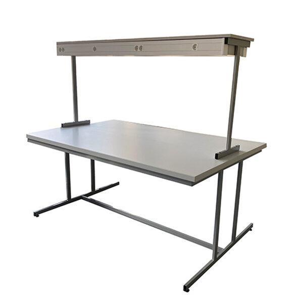 Laboratorijas galds ar plauktu NZLABE4