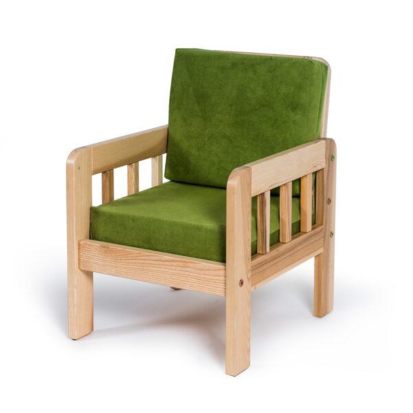 Bērnu 1-vietīgs atzveltnes krēsls MD