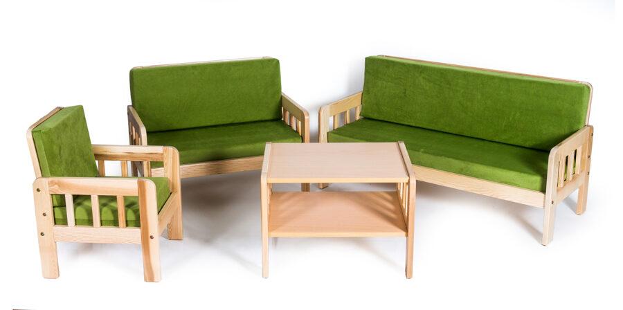 Bērnu dīvāna komplekts MD