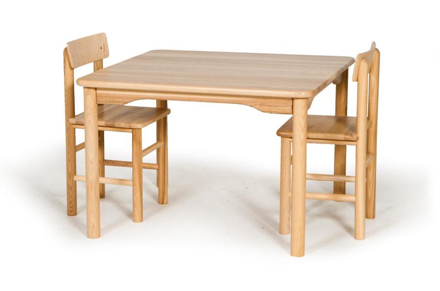 Bērnu galds kvadrātveida MD neregulējams